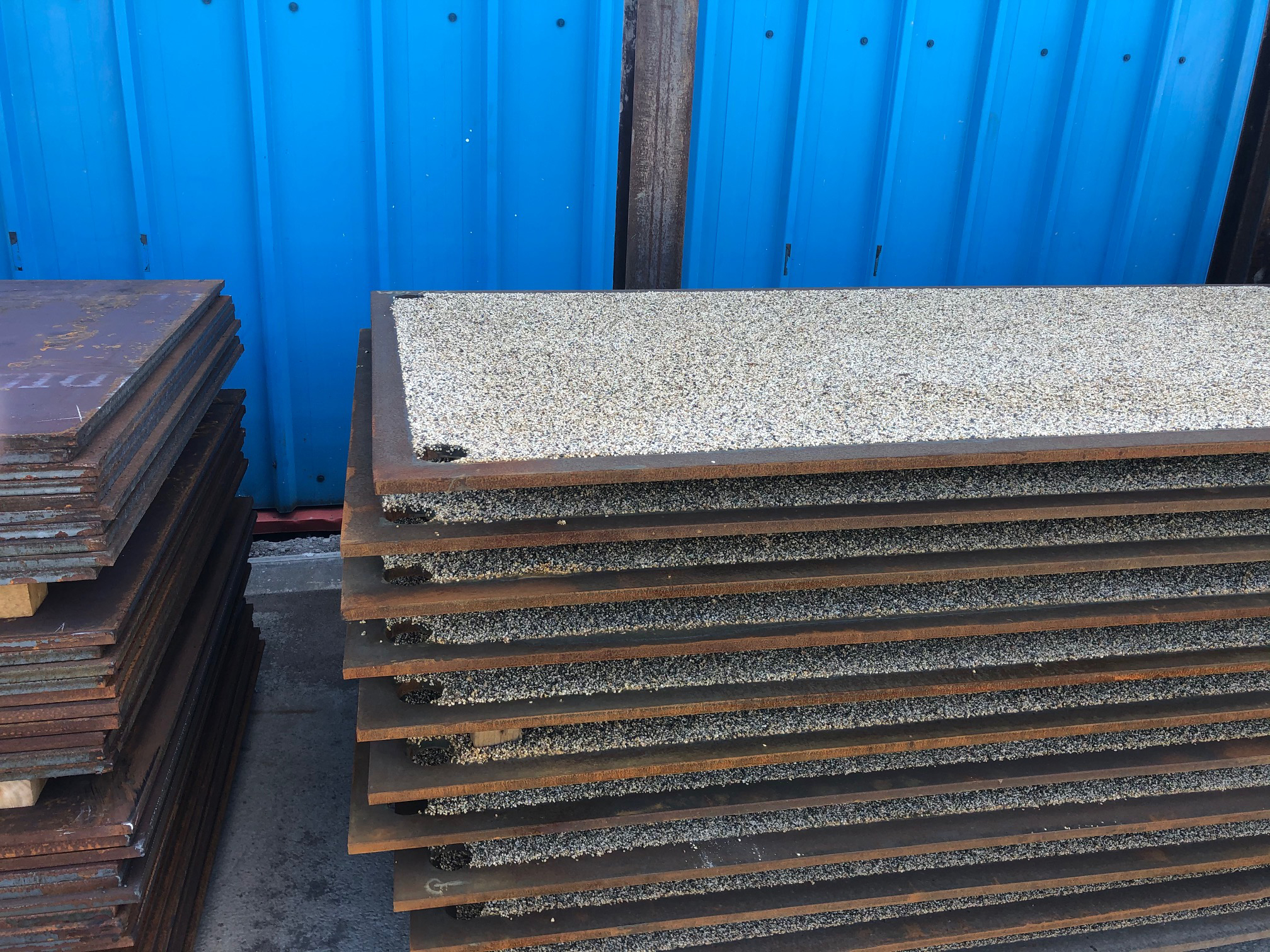 steel road plates protection